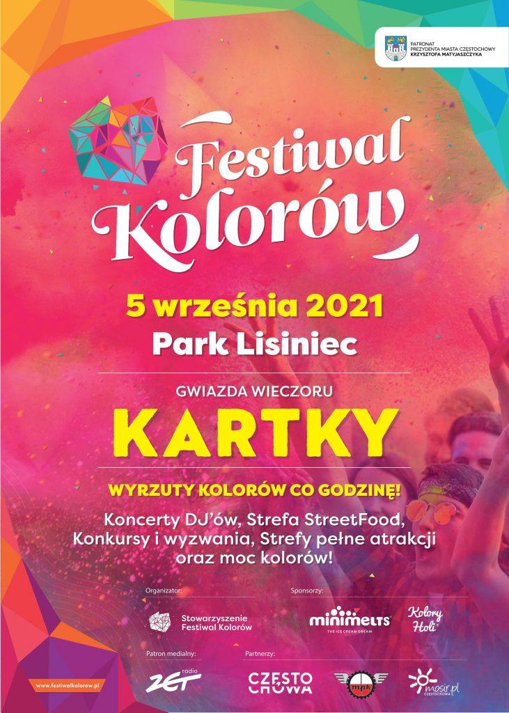 Festiwal kolorów w Częstochowie już w tę niedzielę 5 września! 2