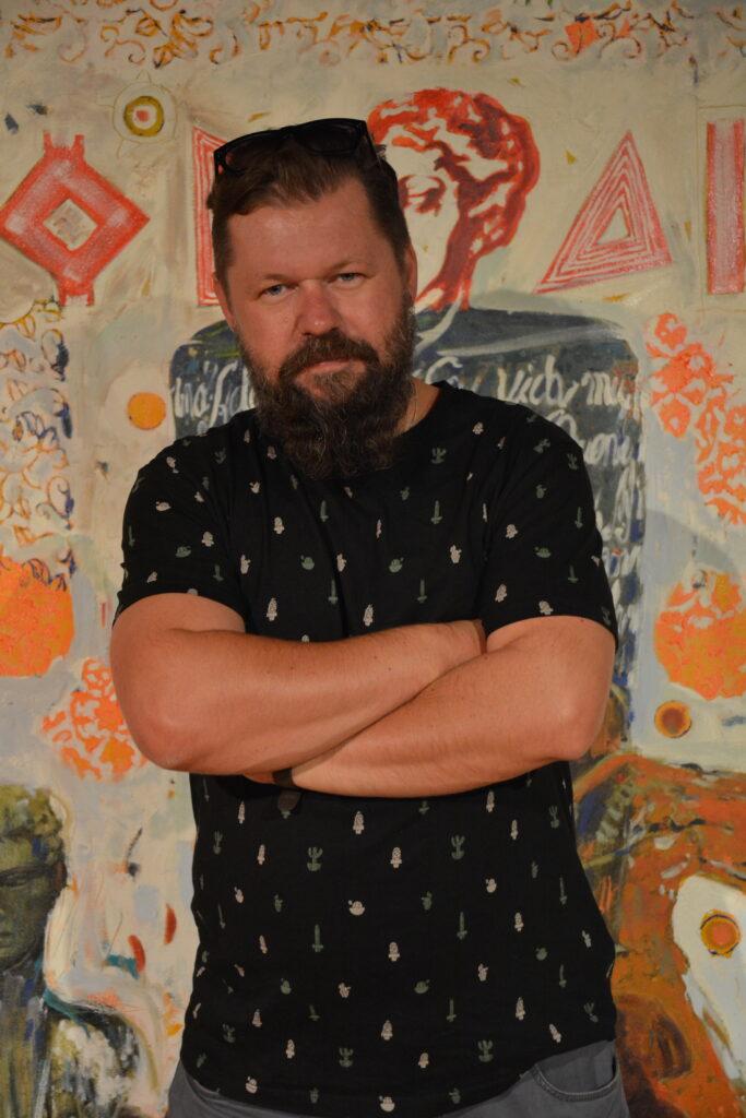 """""""25 lat malowania"""", czyli jubileuszowa wystawa Bartosza Frączka w częstochowskiej Miejskiej Galerii Sztuki 14"""
