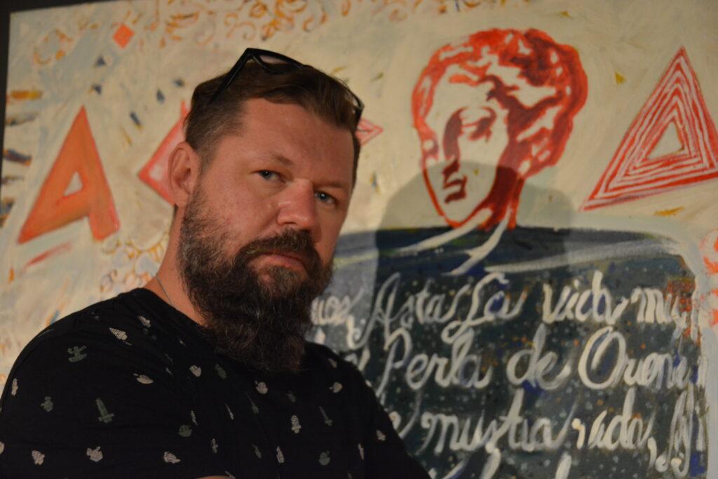 """""""25 lat malowania"""", czyli jubileuszowa wystawa Bartosza Frączka w częstochowskiej Miejskiej Galerii Sztuki 2"""