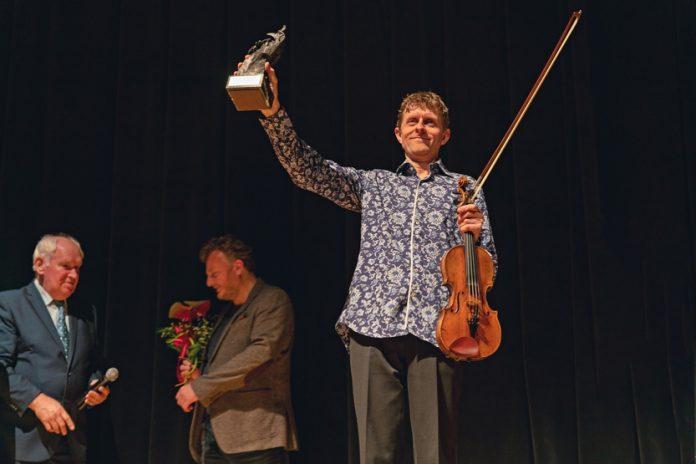 Tim Kliphuis odebrał w Częstochowie Honorowego Swingującego Kruka 5