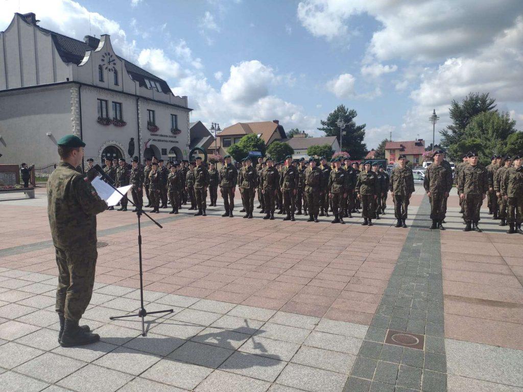 Marsz szlakiem 7 Dywizji Piechoty 8