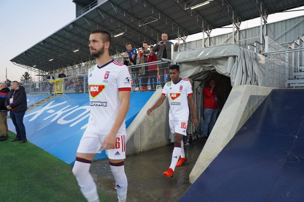 Grad bramek w jubileuszowym meczu Rakowa z MOL Fehervar FC na 100-lecie częstochowskiego klubu 6