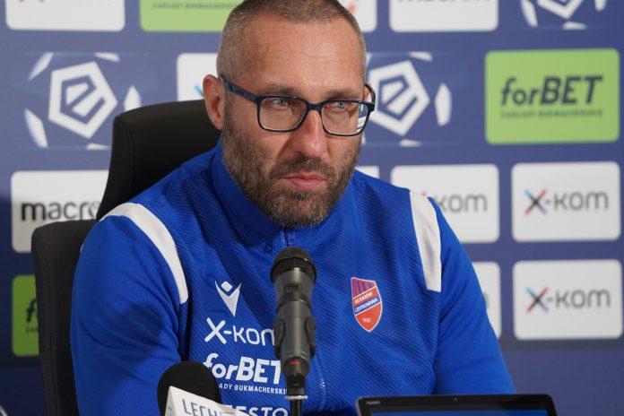 Marek Papszun po meczu z Lechem Poznań 6