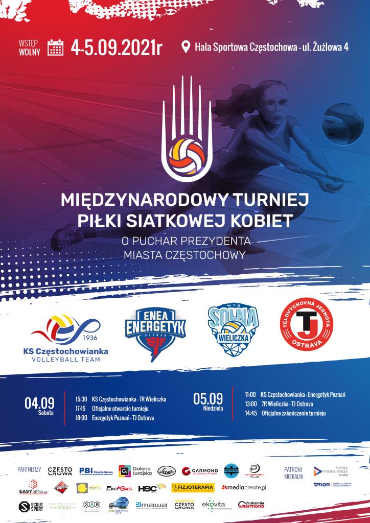 Siatkarki Częstochowianki zapraszają na piątkową prezentację i na weekendowy międzynarodowy turniej o puchar prezydenta miasta 3
