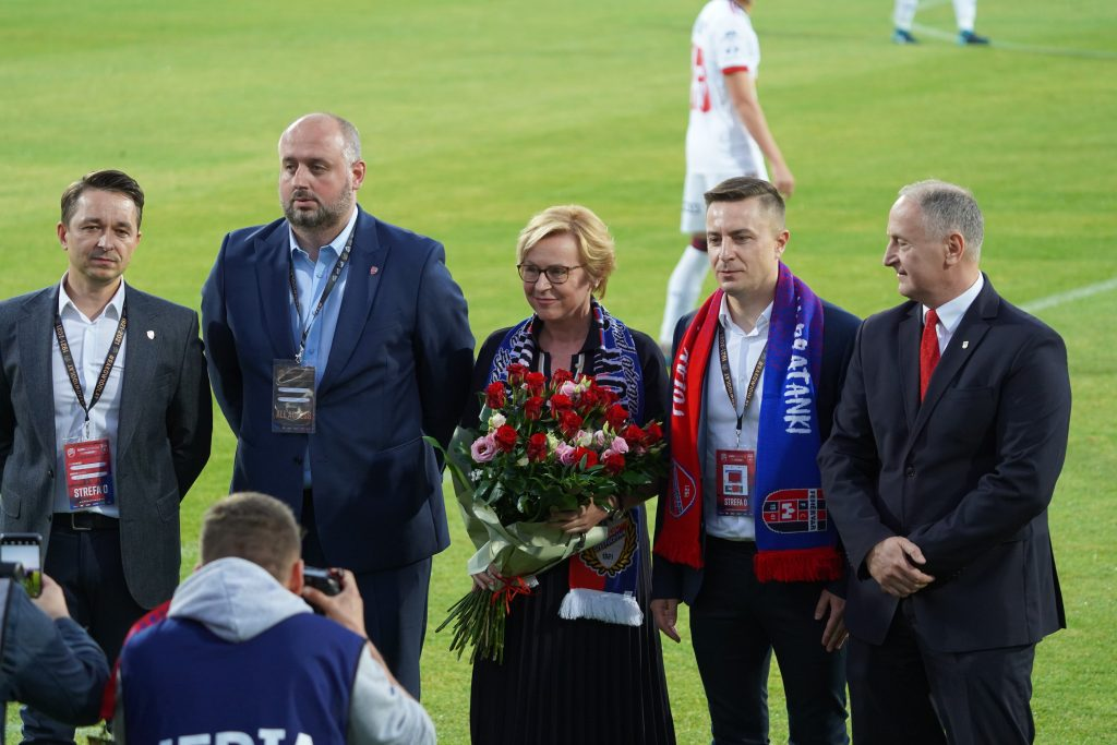 Grad bramek w jubileuszowym meczu Rakowa z MOL Fehervar FC na 100-lecie częstochowskiego klubu 5