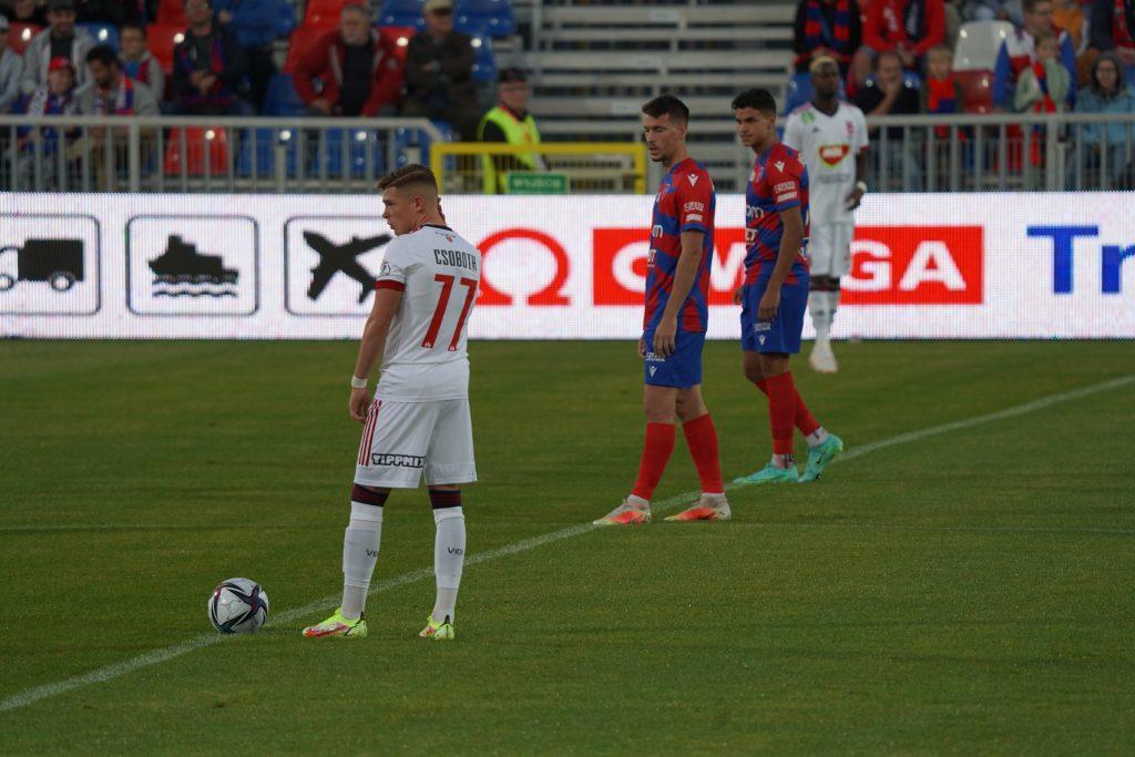 Grad bramek w jubileuszowym meczu Rakowa z MOL Fehervar FC na 100-lecie częstochowskiego klubu 7