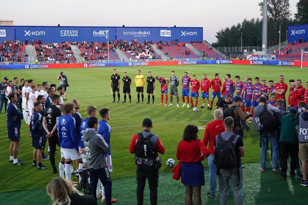 Grad bramek w jubileuszowym meczu Rakowa z MOL Fehervar FC na 100-lecie częstochowskiego klubu 3