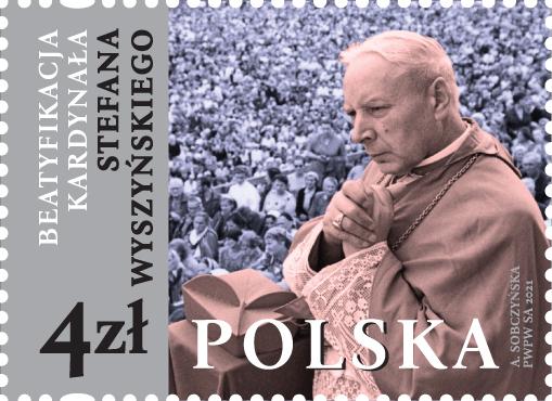 Poczta Polska wydała okolicznościowy znaczek z okazji beatyfikacji kardynała Stefan Wyszyńskiego 8