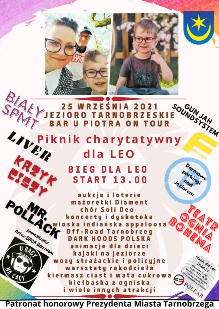 Trzylatkowi z Częstochowy chcą pomóc także w Tarnobrzegu. 25 września będzie piknik! 2