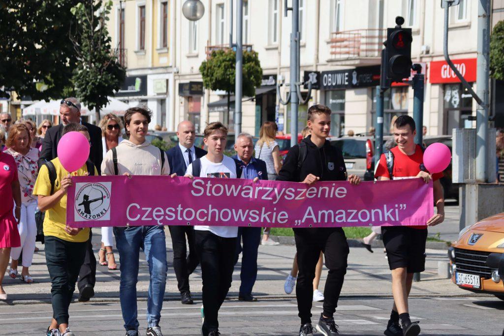 Przeszli ulicami Częstochowy, aby promować profilaktykę chorób nowotworowych 7