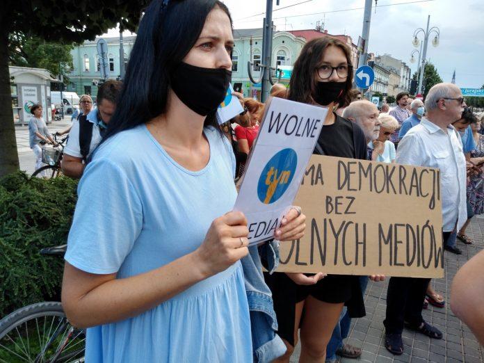 Dzisiaj znowu w Częstochowie wyjdą na ulicę w obronie wolnych mediów 2
