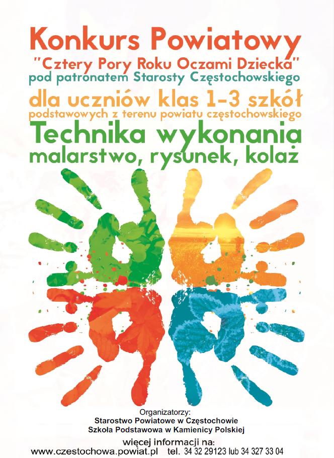 Cztery Pory Roku – Częstochowski konkurs dla uczniów szkół podstawowych 1