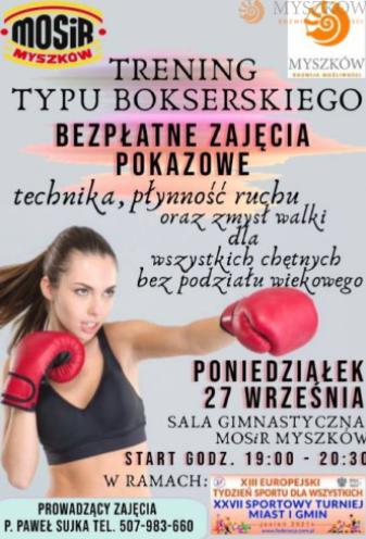 Myszkowski tydzień sportu 8