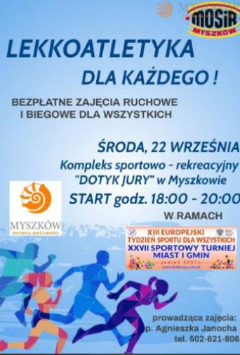 Myszkowski tydzień sportu 2