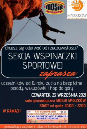 Myszkowski tydzień sportu 3
