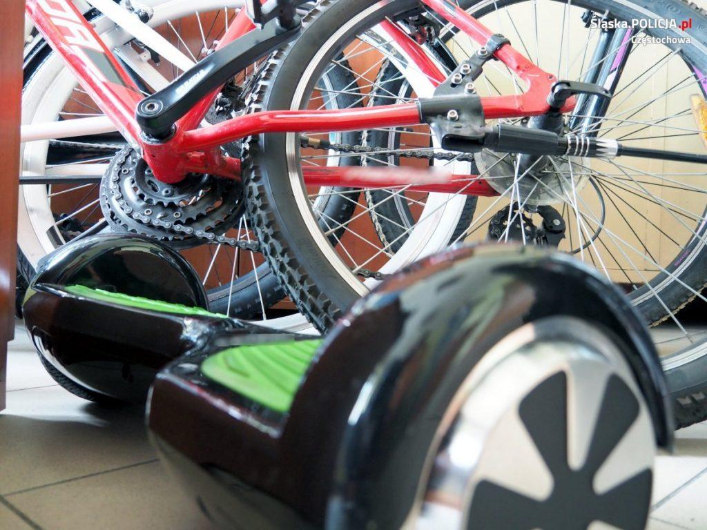 Policjanci odzyskali skradzione rowery, włamywacz recydywista trafił do aresztu 2